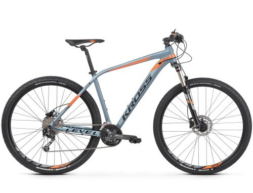 Kross Level 4.0 maastopyörä on loistava valinta vaativampaankin maastoon!