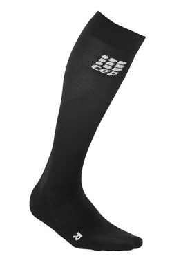 CEP run socks 2.0 women black-black,