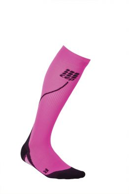CEP run 2.0 kompressiosukat naisten black-pink,